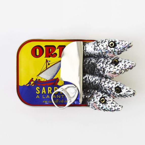 Tinned Ortiz Sardines Print