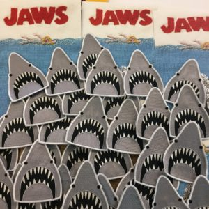 Jaws sew on patches