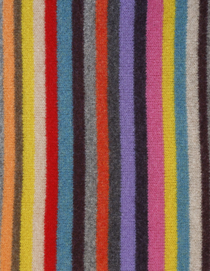 Multi-coloured stripe