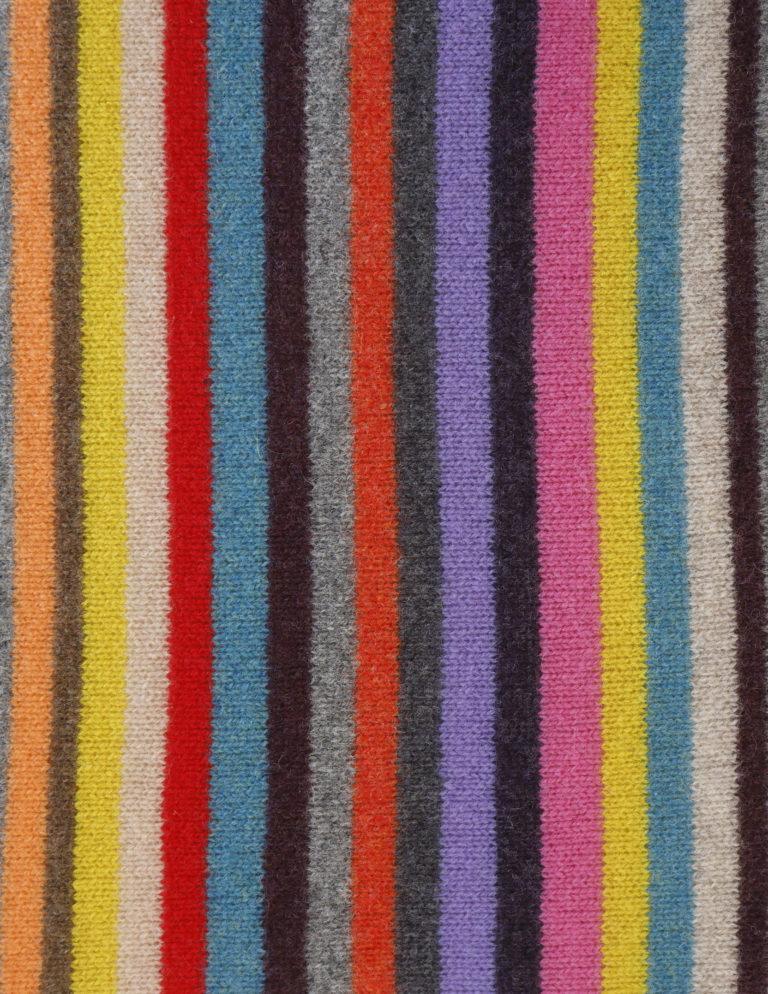 Multi-coloured stripe