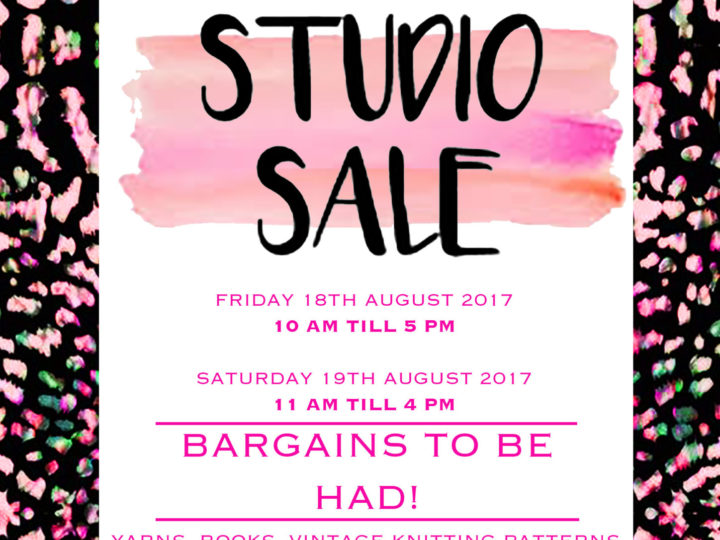 Studio Sale this week!