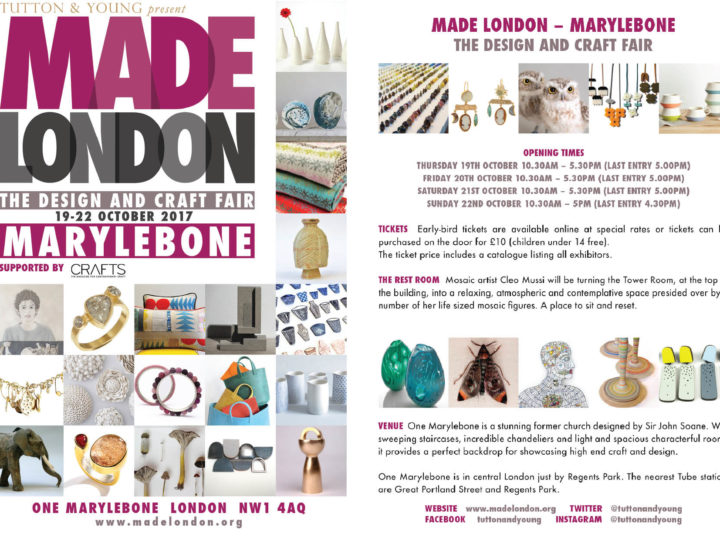 Made London The Design and Craft Fair