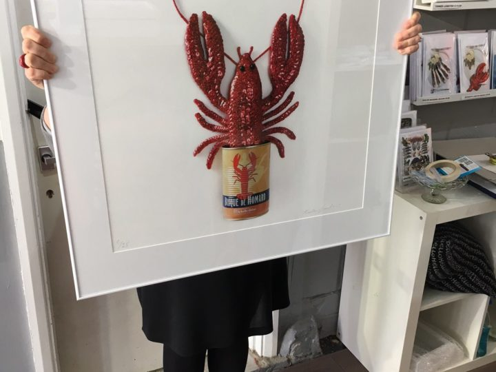 Tinned Lobster Bisque Print Sale