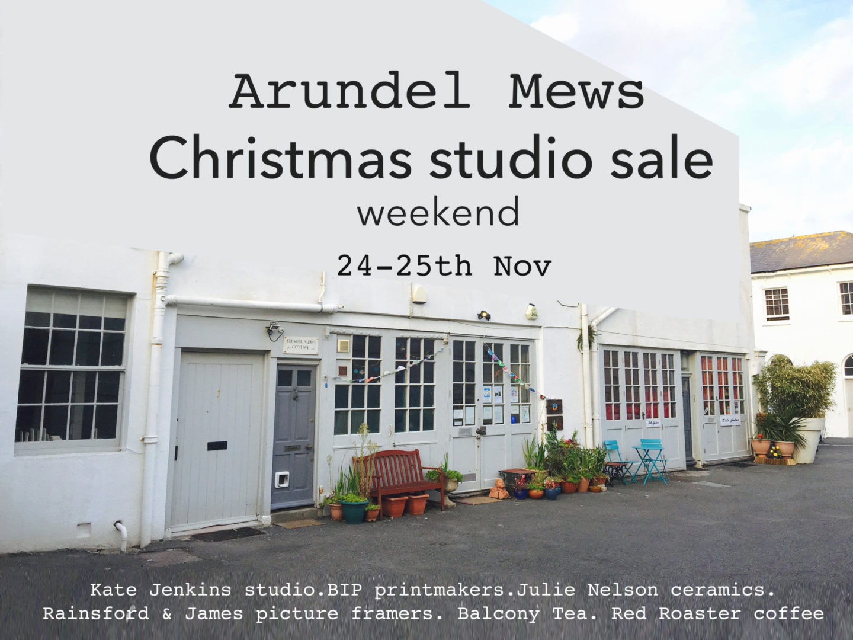 Arundel Mews Christmas Open Studios