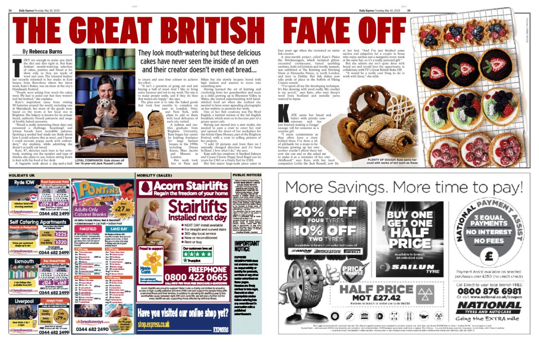 Great British Fake Off Kate Jenkins
