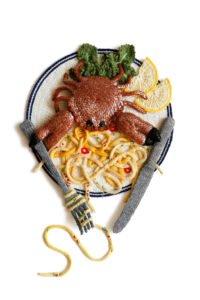 Crab and Chilli Linguini