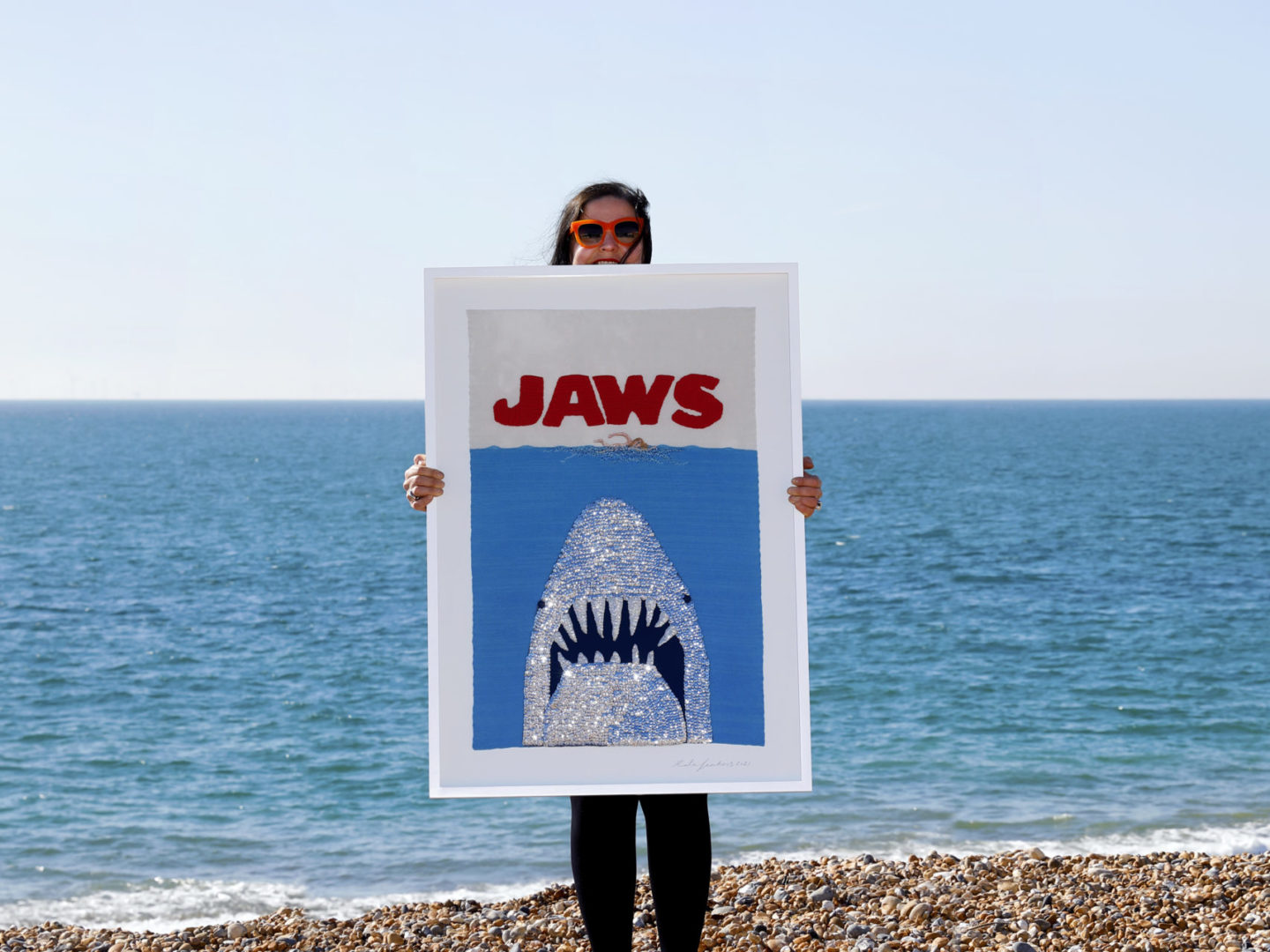 Recent Commission: Jaws film poster