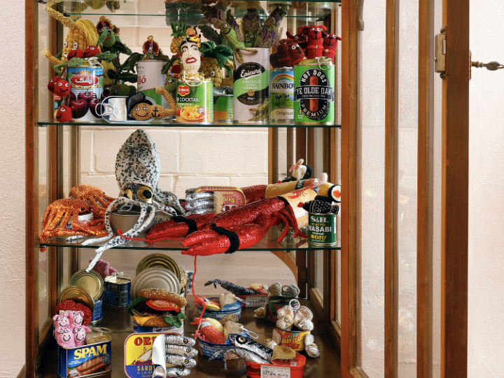 'The Art of Shelf Isola-tin and Social Distance-tin' at the Museum Rijswijk