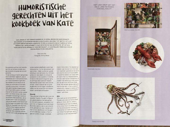 Featured in Handwerken Magazine (Netherlands)